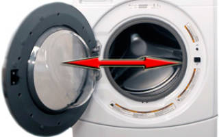 Не открывается дверца стиральной машины после стирки