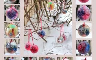 Фигуры из льда своими руками – цветные ледяные шары