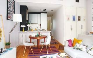 Дизайн малогабаритной квартиры правила увеличения пространства, интерьер малогабаритки