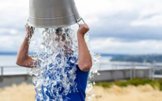 Обливание холодной водой как правильно обливаться