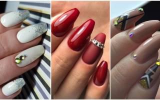 Форма ногтей балерина на короткие ногти фото, маникюр пуанты