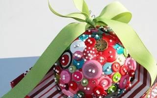 Новогодний шар из папье Маше своими руками: как украсить пенопластовый шарик?