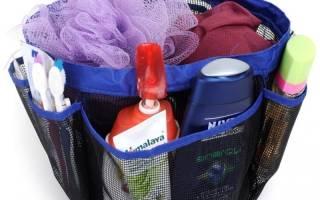 Органайзер для ванной комнаты своими руками: полочка для мочалки