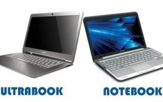 Ноутбук нетбук ультрабук в чем разница