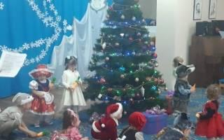 Новогодний сценарий в младшей группе детского сада: новый год в садике у малышей