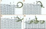Начало вязания спицами как сделать красивый край, закрыть петли итальянским способом