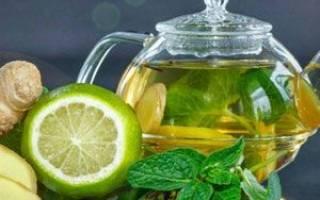 Имбирный напиток с лимоном рецепт