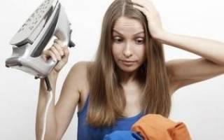 Глажка или глажение как правильно – гладить или утюжить?