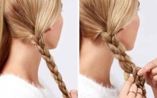 Как заплести 2 косички самой себе: как сделать 2 косы?