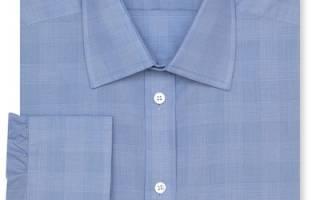 Как ушить рубашку на размер меньше, как укоротить рукава