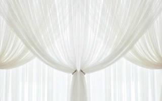 Как постирать тюль чтобы была белоснежной – как отстирать белую занавеску?