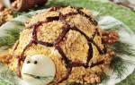 Салат черепаха рецепт классический рецепт с черносливом
