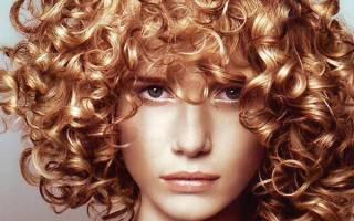 Биозавивка на средние волосы с челкой
