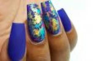 Фольга для литья на ногтях как пользоваться