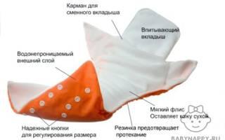 Как использовать многоразовые подгузники?