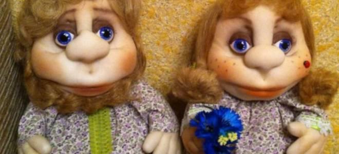 Кукла из капроновых колготок мастер класс, поделки из синтепона своими руками