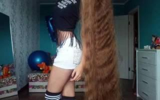Самые густые волосы в мире