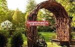 Деревянные поделки для дачи своими руками фото, идеи для сада из дерева