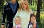 Пугачева и Галкин с детьми, видео