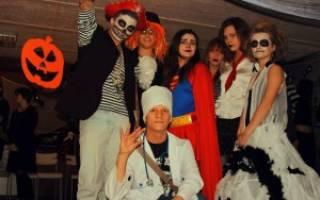 Идеи для хэллоуина в школе