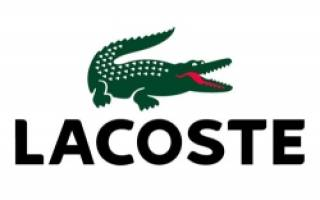Значок лакост: эмблема крокодила на одежде