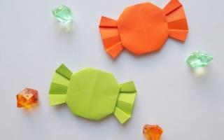Как сделать конфеты из бумаги своими руками?