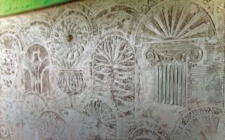 Что такое сграффито: технология графито