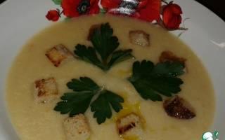 Блюда из кабачков для детей, кабачковый суп для ребенка