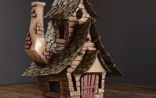 Дом из картонной коробки своими руками