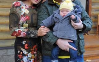 Эвелина бледанс с сыном фото