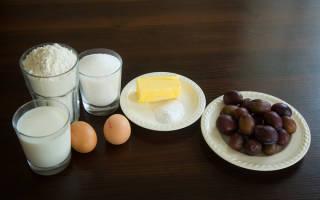 Маффины со сливами, сливовый кекс