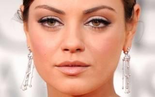 Коррекция круглого лица с помощью макияжа: овальный тип