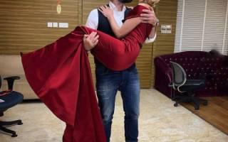 Полина Гагарина и Дмитрий исхаков свадьба фото