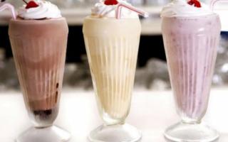 Молочный коктейль в блендере с мороженым рецепт, шоколадный сок