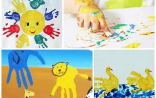 Как рисовать пальчиковыми красками с ребенком – рисунки пальцами для детей
