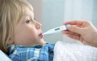 Какую температуру можно сбивать у ребенка