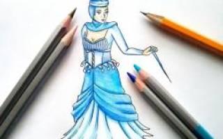 Корона снежной королевы рисунок для детей: как нарисовать царицу поэтапно?