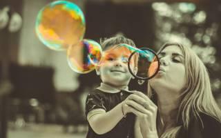 Как сделать мыльные пузыри своими руками?