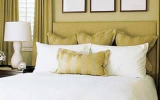 Как красиво застелить кровать: ночь в спальне