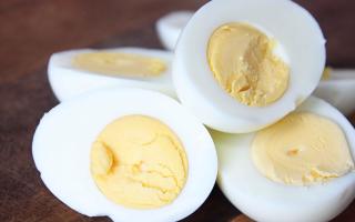 Калорийность яйца вареного всмятку 1 шт
