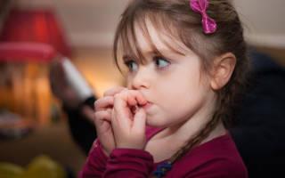 Почему дети грызут ногти на руках, ребенок разгрыз