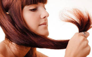 Как избавиться от сухих кончиков волос?