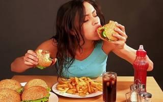 Признаки булимии у девушек