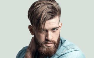 Стрижка андеркат мужская фото для парикмахера, короткий undercut