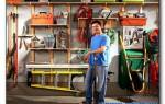 Системы хранения инструмента на стене — порядок в мастерской