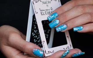 Переводные наклейки на ногти как использовать