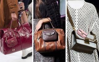 Какие сумки модные в 2019 году, коллекция сумок 2019