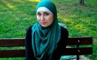 Как правильно одевать хиджаб, хибаб одежда