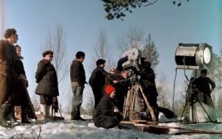 Где снимался фильм морозко 1964?