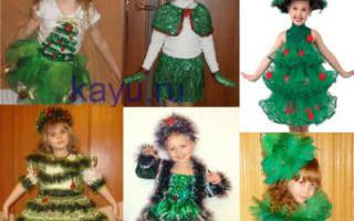 Как сшить костюм елочки для девочки – платья елка